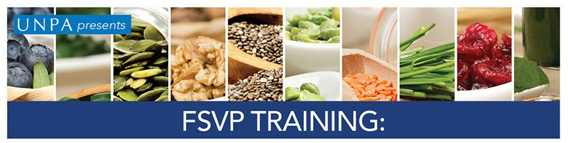 UNPA FSVP Course for Foods and Dietary Supplements